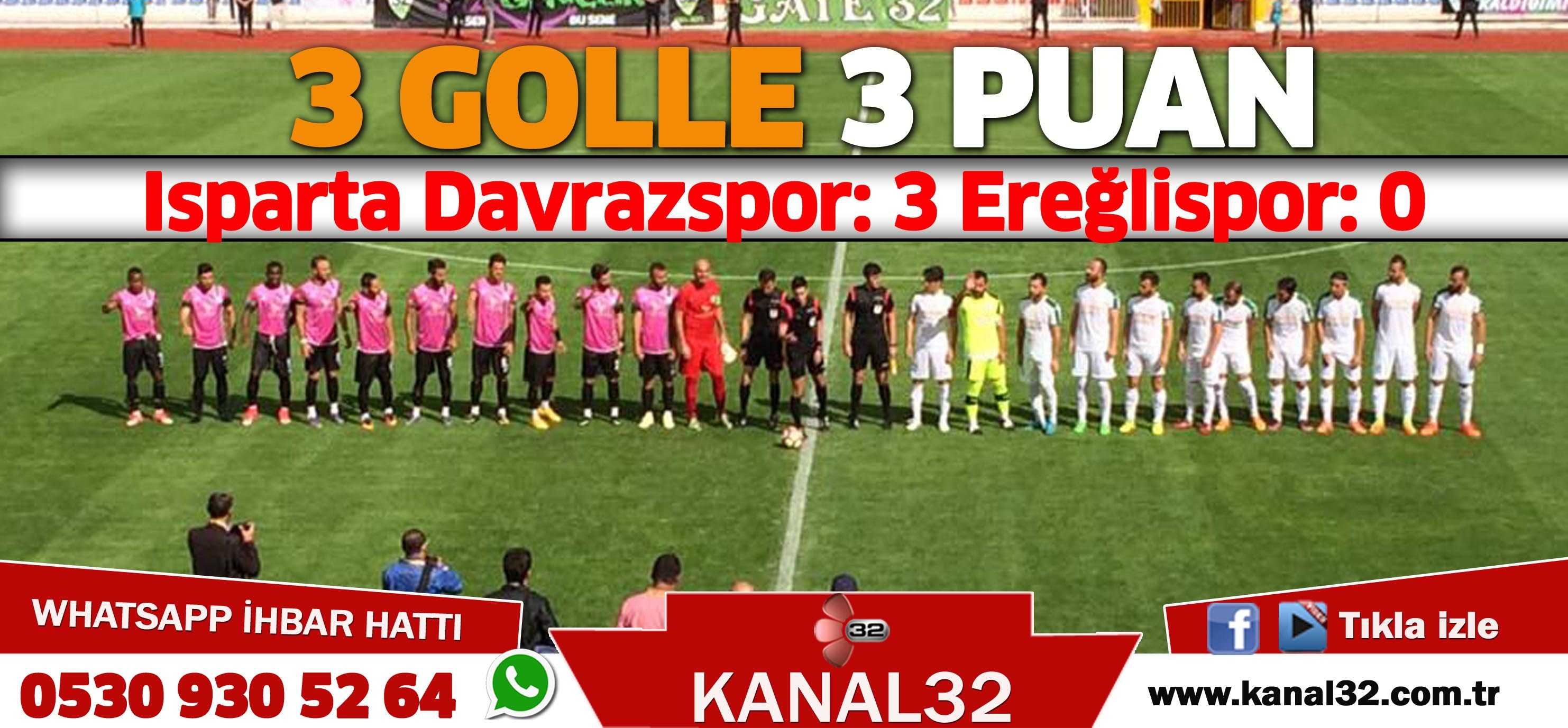 3 GOLLE 3 PUAN